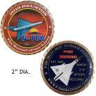 Commemorative Coin 2015 F-106 Reunion