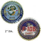 Challenge Coin 318th FIS
