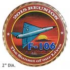 Commemorative Coin 2015 F-106 Reunion
