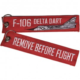 F-106 'Remove Before Flight' Key Chain