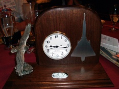 Erv Smalley Clock 2008