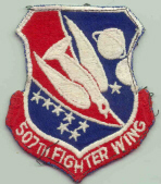 Patch 438th 507th Patch Wing